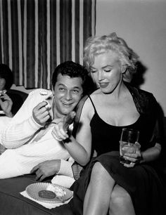 Marilyn & Tony Curtis