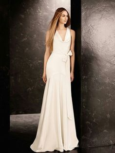 White by Vera Wang Fall 2013 Bridal Collection - Double Faced Satin Gown  from e6a1fdabf4d
