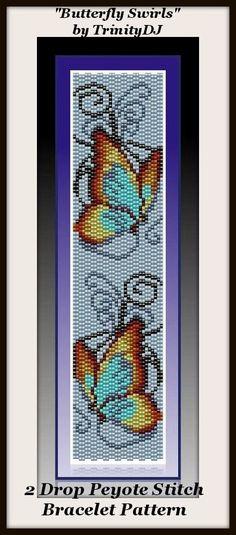 Схемы мозаикой для браслетов - своими руками