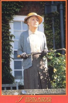 (1987) Joan Hickson as Miss Marple in Agatha Christie's 'Sleeping Murder'