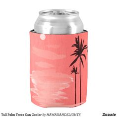 Tall Palm Trees Can Cooler