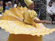 Ochun dancer