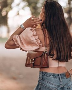 Totally in love with my Coach Tabby 26 bag, the color is perfect for fall. I paired it with my Levi's jeans and pink House of CB top. Fashion Bags, Fashion Outfits, Womens Fashion, Coach Shoulder Bag, Shoulder Bags, Branded Bags, Cloth Bags, Fashion Looks, Style Inspiration