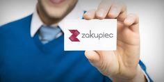 Projekt logo oraz identyfikacji wizualnej dla portalu zakupowego Zakupiec.pl.