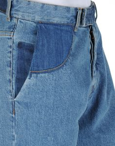 Beautiful Maison Martin Margiela blue jeans from the new Autumn collection