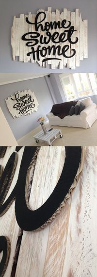 Renova los espacios de tu casa fácil con ideas como esta. Algunas cajas de cartón y un poco de pintura serán los materiales que necesitarás para lograrlo. - #decoracion #homedecor #mue