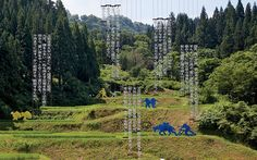 At the Echigo-Tsumari Art Field in northern Japan, sculptures and installations find a revelatory home in the rural countryside. Charles Spreckley takes them in. Japan Tourism, Art Festival, Installation Art, Art Museum, Countryside, Signage, Empty, Fields, Sculptures