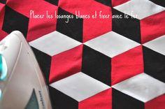 DIY le T-Shirt façon Pierre Hardy Pierre Hardy, Isometric Cube, Stop Motion, Facon, T Shirt, Diy Crafts, Diamond Pattern, Tie Dye, Supreme T Shirt