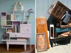 Recycled Furniture- I want to do this