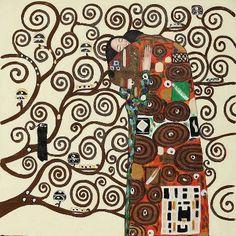 The fulfillment by Gustav Klimt