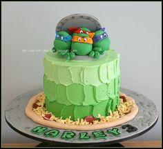 Ninja Turtle Cake by Kat's Cakes