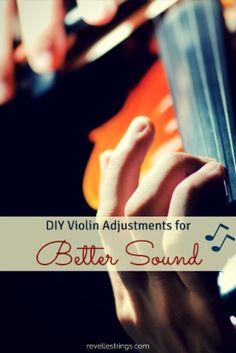 DIY violin adjustments for better sound  http://www.connollymusic.com/revelle/blog/diy-violin-adjustments-for-better-sound @revellestrings