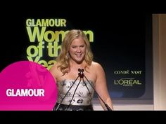 Amy Schumer Remembers Joan Rivers – Glamour 2014 Women of the Year Awards - YouTube
