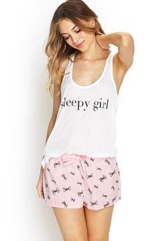 Sleepy Girl PJ Set