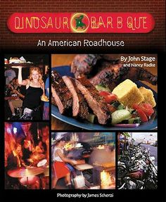 Dinosaur Barbq Macaroni and Cheese Shepherds Pie...my favorite recipe ever!  Really need to take a road trip and visit this place.
