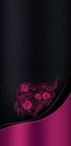 By Artist Unknown. New Flower Wallpaper, Heart Iphone Wallpaper, Wallpaper Images Hd, Bling Wallpaper, Beautiful Flowers Wallpapers, Free Hd Wallpapers, Cute Wallpaper Backgrounds, Cellphone Wallpaper, Pretty Wallpapers