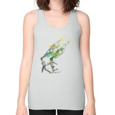 Emanate Unisex Fine Jersey Tank (on woman)