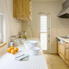 ★★★キッチンから玄関まで見渡せる回遊性の高い間取りの家 - かわいい家photo