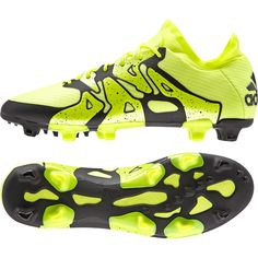 Adidas X 15.1 Firm Ground Football Boots Yellow - Available at Kitbag.com.  Adidas 6afb7e74ffea
