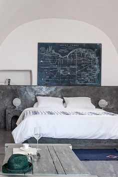 Oliver Gal Ghost Towns Map 1866 Noir Fine Art Canvas