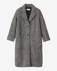 SOFT WOOL LAVINIA COAT by TOAST | Grey