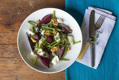 This Roast Baby Beetroot Salad is a vibrant dish that is packed full of complementary flavours and promises to perk up tired tastebuds in a flash.