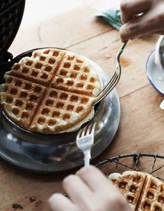 Cupcakes for Breakfast: Michael Graydon waffles