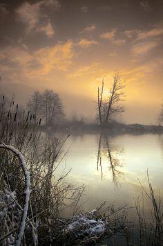 Winter Sunrise, North Cascade National Park, Washington