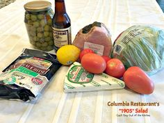 Columbia Restaurant's Salad – Can't Stay Out of the Kitchen Hcg Recipes, Candy Recipes, Salad Recipes, Cooking Recipes, 1905 Salad Recipe, Columbia Restaurant, Best Salad Dressing, Chef Salad, B Recipe