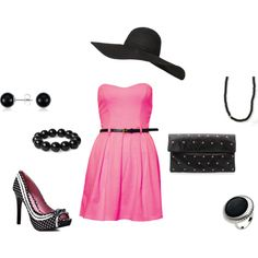 Sexy 50's , created by courtneybreen on Polyvore