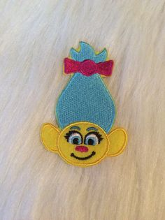 Cute Troll Patch by EverythingMelody on Etsy