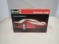 1986 86 CORVETTE INDY REVELL 1:25 SCALE SKILL 2 VINTAGE PLASTIC MODEL KIT ©1989 #Revell Plastic Model Kits, Plastic Models, 2018 Mustang Gt, 32 Ford Roadster, Revell Model Kits, Corvette, Chevy, Indie, Scale