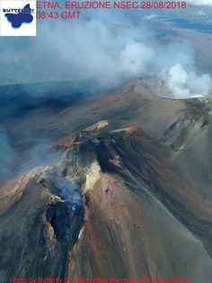 Etna - flying above the summit respectively at and on - photos J. Active Volcano, Sicily Italy, Helicopters, Butterfly, Earth, Mountains, Photos, Travel, Pictures