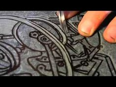 How to make and print a linocut