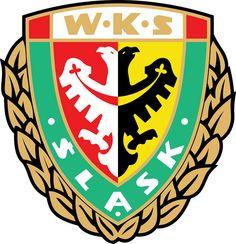 Wrocławski Klub Sportowy Śląsk Wrocław Spółka Akcyjna (Śląsk Wrocław)   Country: Polska / Poland. País: Polonia.   Founded/Fundado: 1946/03/18   Badge/Crest/Logo/Escudo.
