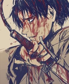 Levi - Attack On Titans (AOT) ; Shingeki No Kyojin (SNK)