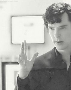 Mind palace.  (Oh, his lovely face. <3)