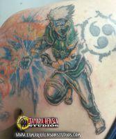Tattoo: Kakashi by briescha