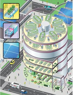 What's Happening In Urban Agriculture Today Urban Agriculture, Urban Farming, Futuristic Architecture, Sustainable Architecture, Environmental Architecture, Environmental Education, Eco City, Tower Garden, Garden Farm