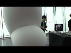 Floating Eye installation by Hiroo Iwata : DigInfo - YouTube (VR, virtual reality, projections, cameras, drones)