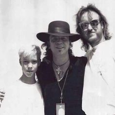 Wow! A very young Kenny Wayne Shepherd with Stevie