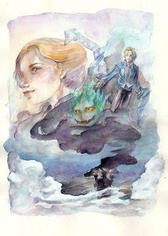 Howl's Moving Castle by MissPaperJoker