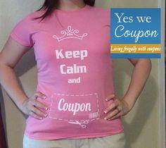 Keep calm and Coupon!