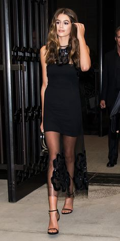 Look of the Day - Kaia Gerber from InStyle.com