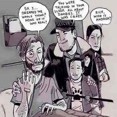 What would your reaction if this was the end in The walking dead?! . . #Thewalkingdead #dk #amc #TWD #rick #shane #lori #carl #carol #judith #walkers #season1 #michonne #comic #comics #negan #dwight #glenn #maggie #rosita #abraham #eugene #aaron #killers