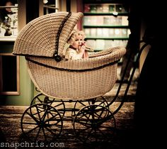 Victorian baby in it pram by tibchris, via Flickr