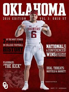 Baker Mayfield - OU Sooners Football
