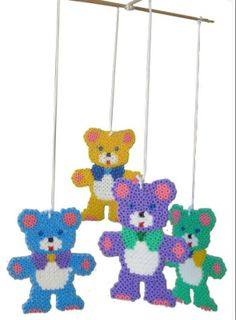 Teddy mobile Hama midi beads