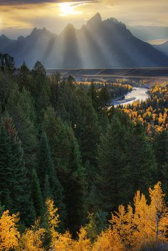 Snake River, Grand Teton National Park, Wyoming, USA