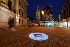 Utrecht by night! Kingdom Of The Netherlands, Utrecht, Big Ben, Holland, Mansions, House Styles, Canvas, Building, Places
